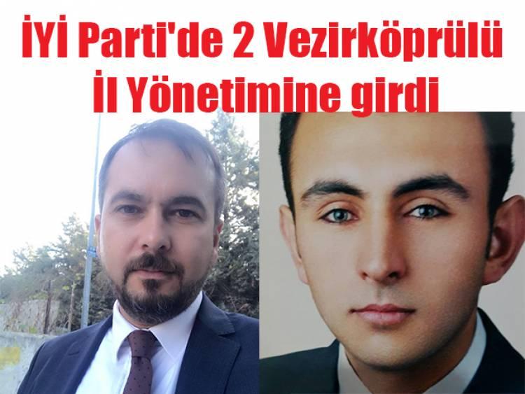 İYİ Parti'de 2 Vezirköprülü Samsun İl Yönetiminde
