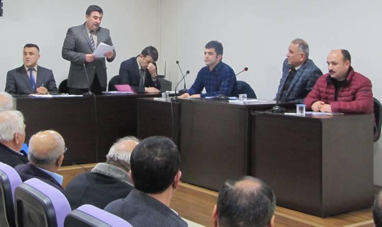 Vezirköprü Belediye Meclisi Nisan ayı toplantısını yaptı