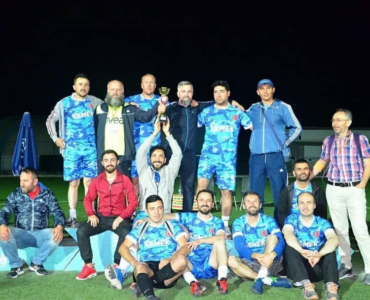 Kaymakamlık Futbol Turnuvasını SAMEK Kazandı