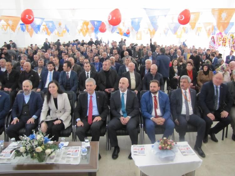 Vezirköprü'de Ak Parti 6.Divan Kurulu Seçimi Yapıldı