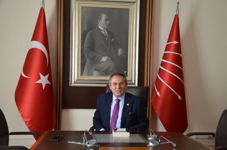 CHP Samsun Milletvekili Kemal Zeybek Sulama Sorunlarını Meclis Gündemine Taşıdı
